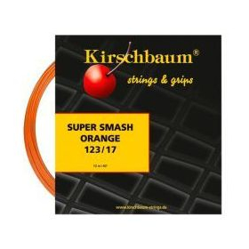Фото <label itemprop='name'>Теннисная струна Kirschbaum Super Smash Orange 1.23 12 метров</label>