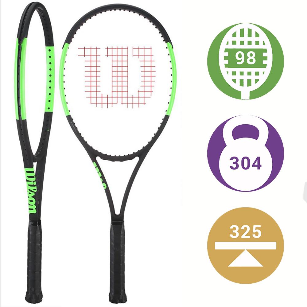 Теннисная ракетка Wilson Blade 98 (16x19) Countervail выбор профессионала,  который хочет добавить вращения