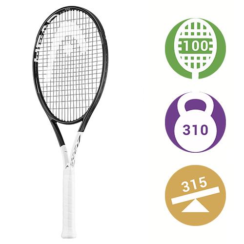 Теннисная ракетка Head Graphene 360 Speed Pro Новак Джокович 2018 - этой  ракеткой Новак выиграл AO 2019 - третий турнир Большого шлема подряд. ea4ea1de490be