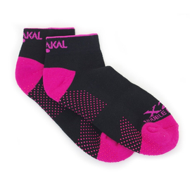 Носки Karakal X2-Trainer Черно-розовые