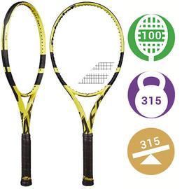 Теннисная ракетка Babolat Pure Aero Tour 2020 (Вес: 315, Голова: 100) утяжеленная версия ракетки Надаля в 315 грамм.