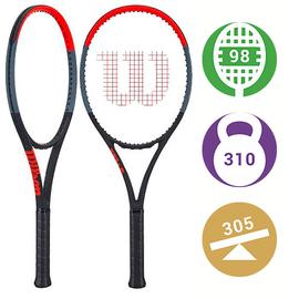 Теннисная ракетка Wilson Clash 98 профессиональная, мощная ракетка ,  для атакующих игроков с хорошей техникой.