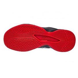 Детские теннисные кроссовки Wilson Rush Pro Grey/Red