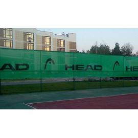 Фон теннисный защитный с логтипом Head 3*18 м