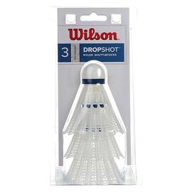 Воланы Wilson Dropshot 3 Middle White