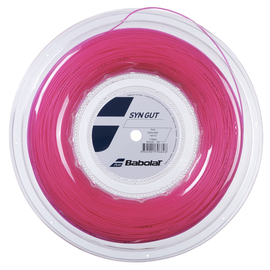 Теннисная струна Babolat Syn Gut Pink 1.30 200 метров