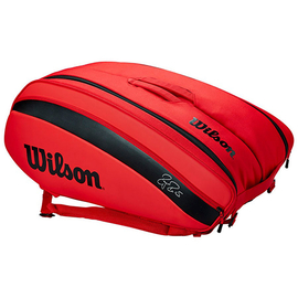 Сумка Wilson Federer DNA 12 Racket Bag 2020 Infrared