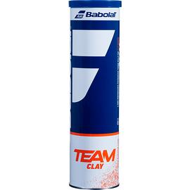 Теннисные мячи Babolat Team Clay Court 4 мяча! Старое название - French Open Clay Court!