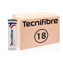 Теннисные мячи Tecnifibre X-One 72 элитные мячи в железной банке. Превосходная цена в 2020 году!
