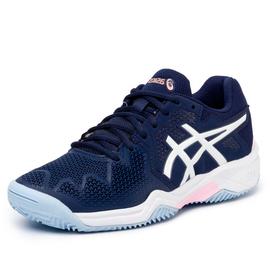 Детские теннисные кроссовки Asics Gel-Resolution 8 Clay Light Blue