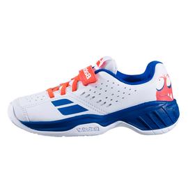 Детские теннисные кроссовки Babolat Pulsion All Court White Blue