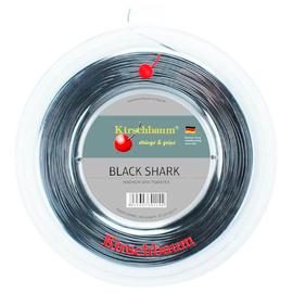 Теннисная струна Kirschbaum Black Shark 1.30 200 метров хит продаж, прочность и вращение,  незаменима на грунте