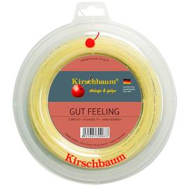 Теннисная струна Kirschbaum Gut Feeling 1.30 110 m.  элитная мультиволоконная струна.Мягкость и комфорт, лечит травмы.