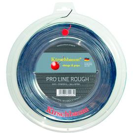 Теннисная струна Kirschbaum Pro Line Rough 1.30 200 м. черная моноструна с высокой износостойкостью и вращением. Выбор грунтовиков.