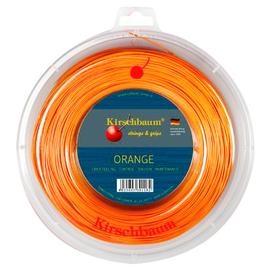 Теннисная струна Kirschbaum Super Smash Orange 1.23 200 метров тонкая моноструна с насечкой.