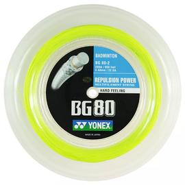 Струна для бадминтона Yonex BG 80 Yellow 200 метров