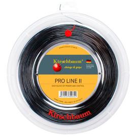 Теннисная струна Kirschbaum Pro Line 2 1.30 Черная 200 м хит продаж.Долговечная струна с хорошим контролем.