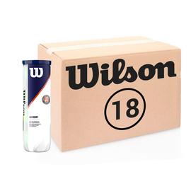 Теннисные мячи Wilson Roland Garros All Court 72 (18*4) мяча
