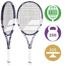 Детская теннисная ракетка Babolat Pure Drive Junior 26 2021 Pink