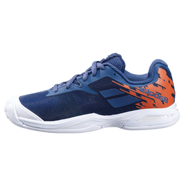 Детские теннисные кроссовки Babolat Jet All Court Blue/Orange/White