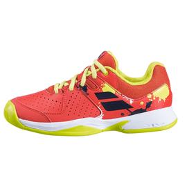 Детские теннисные кроссовки Babolat Pulsion All Court Tomato Red