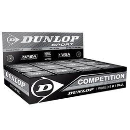Мяч для сквоша Dunlop Competition 12 мячей