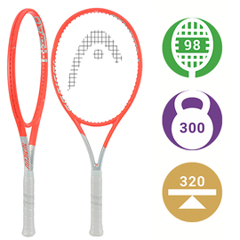 Теннисная ракетка Head Graphene 360+ Radical MP 2021 - не упустите шанс быть одним из первых обладателей легендарной модели!