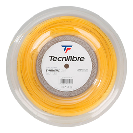 Теннисная струна Tecnifibre Synthetic Gut Yellow 1.30 200 метров