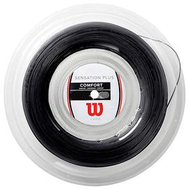 Теннисная струна Wilson Sensation Plus Black 1.28 200 метров