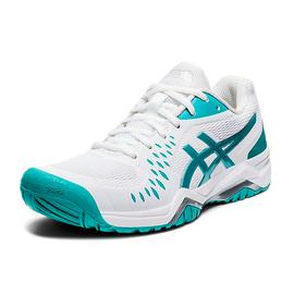 Теннисные кроссовки Asics Gel-Challenger 12 Techno Cyan White