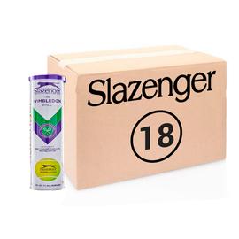 Теннисные мячи Slazenger Wimbledon Hydroguard Ultra Vis 72 мяча