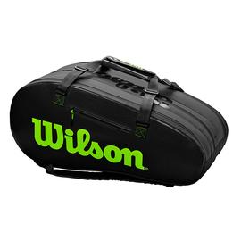 Сумка Wilson Super Tour 3 Comp Black Green