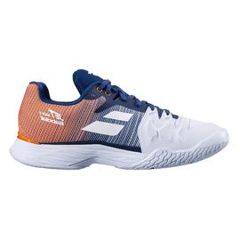 Теннисные кроссовки Babolat Jet Mach 2 All Court White Blue Orange