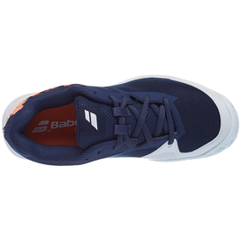 Детские теннисные кроссовки Babolat Jet Clay Court Blue Orange
