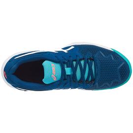 Детские теннисные кроссовки Asics Gel-Resolution 8 GS  Clay Mako Blue