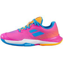 Детские теннисные кроссовки Babolat Jet Mach 3 All Court Neon Pink