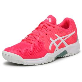 Детские теннисные кроссовки Asics Gel-Resolution 8 White Pink