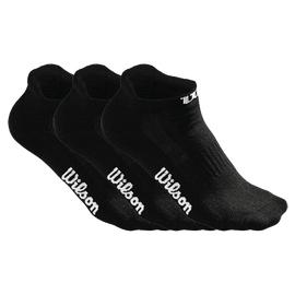 Носки Wilson No Show Sock Женские Черные 3 пары