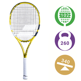 Теннисная ракетка Babolat Boost Aero Yellow/Black/White
