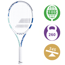 Теннисная ракетка Babolat Boost Drive White/Blue/Green