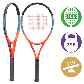 Теннисная ракетка Wilson Clash 100 Reverse. Новинка 2021 года!