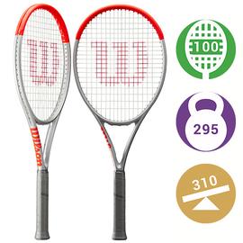 Теннисная ракетка Wilson Clash 100 Silver Новинка 2021 года
