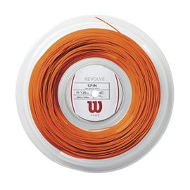 Теннисная струна Wilson Revolve Spin 1.30 Orange 200 метров