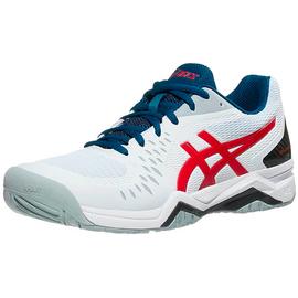 Теннисные кроссовки Asics Gel-Challenger 12 White/Classic Red