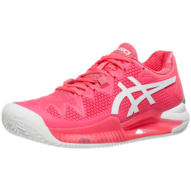 Теннисные кроссовки Asics Gel-Resolution 8 Clay Pink Cameo/White