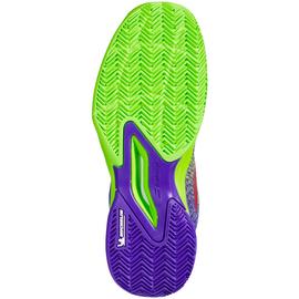 Детские теннисные кроссовки Babolat Jet Mach 3 Clay Court Jade Lime