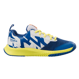 Детские теннисные кроссовки Babolat Pulsion All Court White/Blue/Yellow