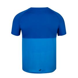 Футболка для мальчиков Babolat Play Crew Neck Astra Blue