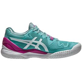 Теннисные кроссовки Asics Gel Resolution 8  Smoke Blue/White