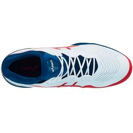 Теннисные кроссовки Asics Court FF 2 Clay White/Mako Blue